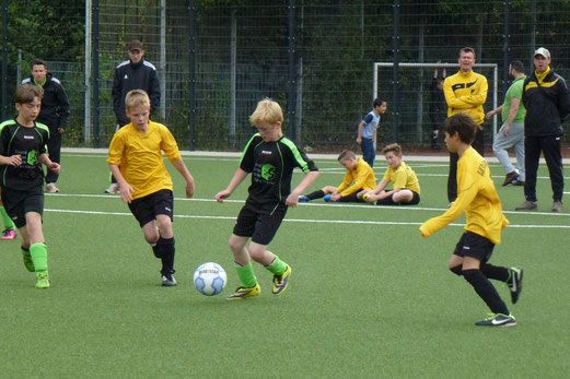 Spiel um Platz 3: TuS E1-Jugend - SuS Haarzopf (3:0). - (Foto: mal).
