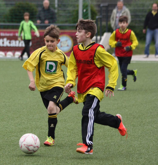Klarer Heimsieg im letzten Saisonspiel: TuS E3-Jugend gegen die E3 des ESC Preußen. - (Foto: p.d.).