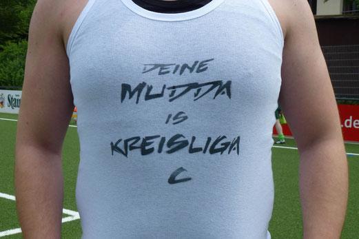 Meistershirt 2013 (Foto mal).
