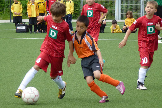 F2-Jgd. Turnier: Ballfreunde Bergeborbeck - DJK Eintracht Borbeck (Foto: mal).