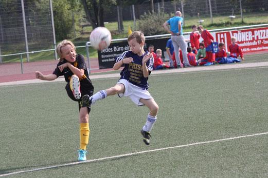 19 Tore in 50 Minuten: TuS E2-Jugend beim Auswärtsspiel an der Kuhlhoffstraße. - Foto: o.k.