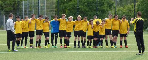 TuS C-Jugend Ende Juni 2014 bei den TuS Turnier Tagen an der Pelmanstraße. - (Foto: mal).