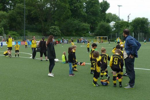 Bambini 1 - Treff, Sportfreunde 07 - SuS Haarzopf (0:1). - Fotos: mal.