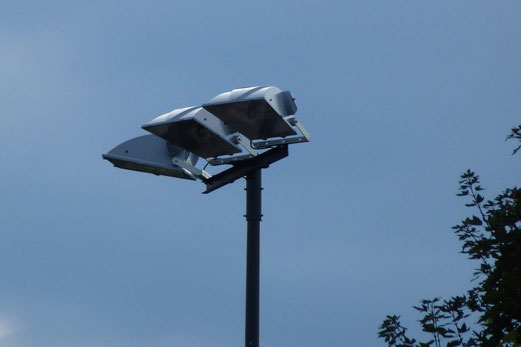 15.08.2012: Flutlichtstrahler wurden erneuert (Foto: mal).