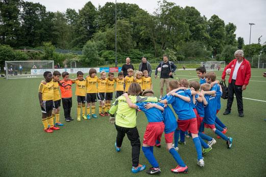 TuS F2-Jugend gegen SC Werden-Heidhausen. - Foto: r.f.