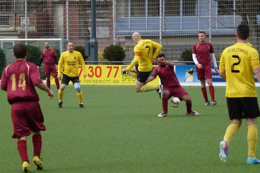 Acht Tore in der letzten halben Stunde: Dritte Mannschaft im Heimspiel gegen FC Alanya 2. - (Foto: mal).