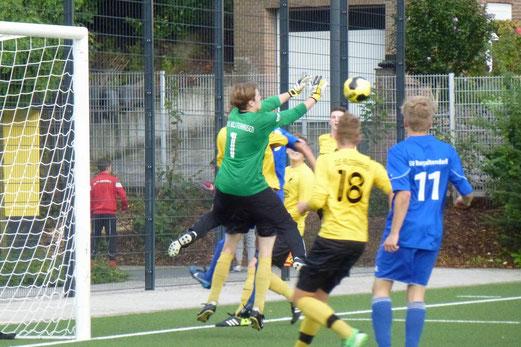 Zweite Mannschaft im Testspiel gegen SV Burgaltendorf 2 an der Pelmanstraße. - Foto: mal.