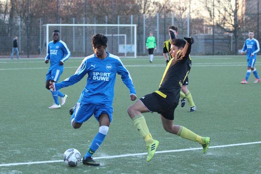 TuS A-Jugend im Spiel gegen die SG Schönebeck. - Foto: abo.