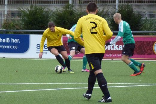 Zweite Mannschaft im Heimspiel gegen SV Borbeck. - (Foto: mal).
