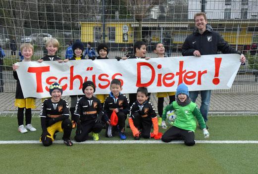 """Die F2 sagt """"Tschüss Dieter"""""""