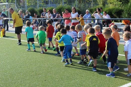 Erstes Bambini 2 Training der Saison. - Foto: a.s.
