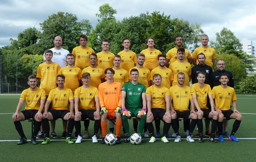 TuS Zweite Mannschaft - Saison 2017/18, vor dem Spiel gegen SG Altenessen. - Foto: mal.