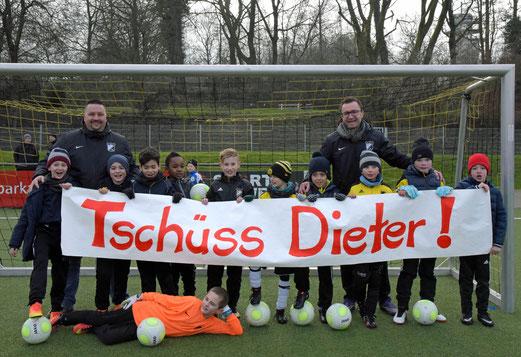 """Die F1 sagt """"Tschüss Dieter"""""""