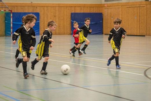 TuS Bambini 1 Hallenwinterrunde, 08.02.2014. - (Foto: r.f.)