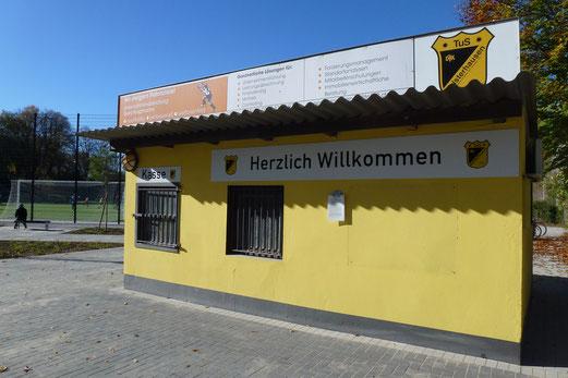 27.10.2012: Herzlich Willkommen (Foto: mal).