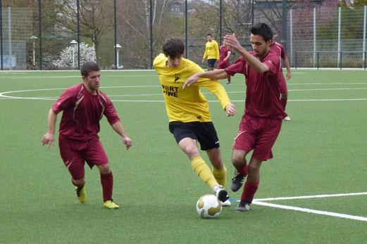 Kantersieg: Dritte Mannschaft beim 9:0 Heimerfolg gegen FC Alanya 2. - (Foto: mal).