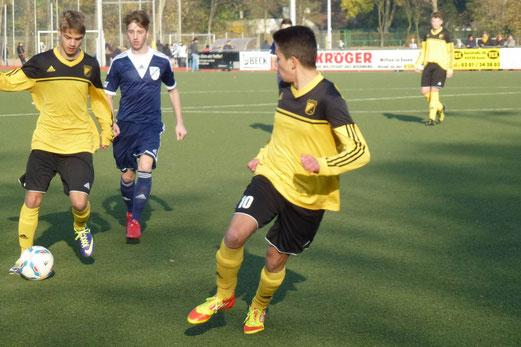 TuS B-Jugend im Auswärtsspiel bei SG Altenessen an der Kuhlhoffstraße. - (Foto: mal).