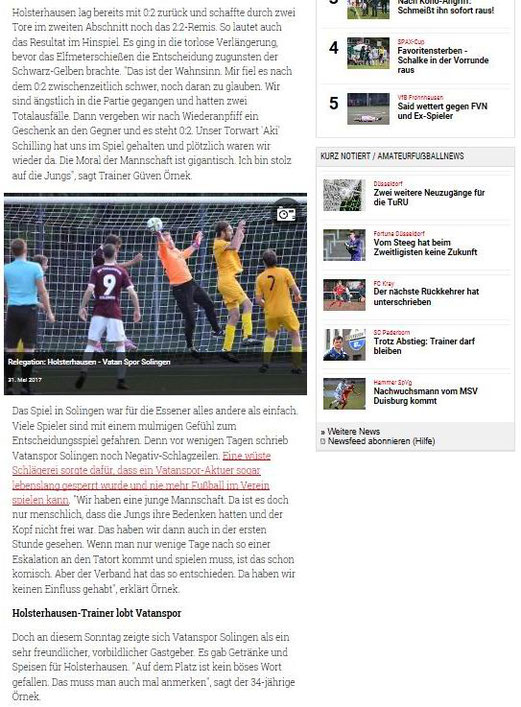 RevierSport, 05.06.2017.