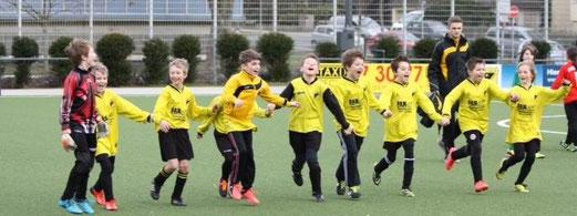 Zweiter Sieg in drei Tagen: TuS E3-Jugend im Heimspiel gegen SpVgg. Schonnebeck E2. - (Foto: p.d.)