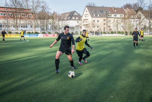 A-Jugend gegen Zweite Mannschaft. - (Foto: r.f.)