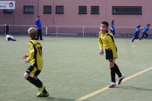 TuS D2-Jugend im Auswärtsspiel an der Ardelhütte (Foto: p.a.).