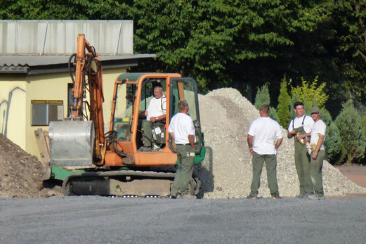 29.08.2012: Men at work reloaded (Foto: mal).