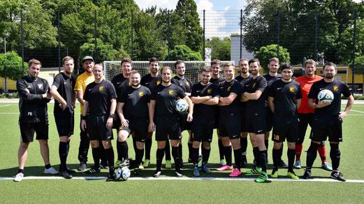TuS Dritte Mannschaft in der Vorbereitung auf die neue Meisterschaftssaison. - Foto: a.s.