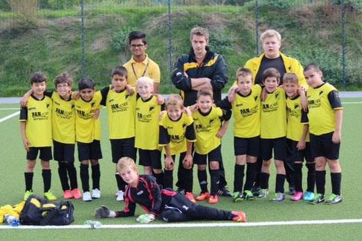 TuS F1-Jugend - Saison 2014/15, im Auswärtsspiel an der Bäuminghausstraße, 13.09.2014. - Foto: a.k.