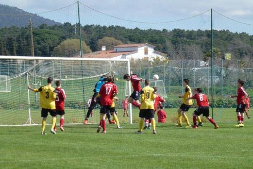 Auftaktsieg bei der Trofeo Mediterraneo III: TuS C-Jugend gegen FC Hürth (Foto: mal).