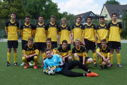TuS B-Jugend Saison 2013/14 (Foto: mal).