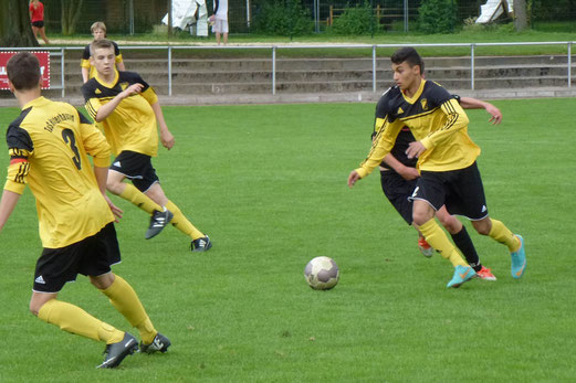 """TuS B-Jugend: Sieg im letzten Spiel als """"alte B"""" im Soester Jahnstadion. - (Foto: mal)."""