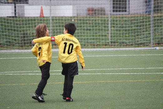 F1-Jugend im Auswärtsspiel bei BV Altenessen. - (Foto: o.k.).