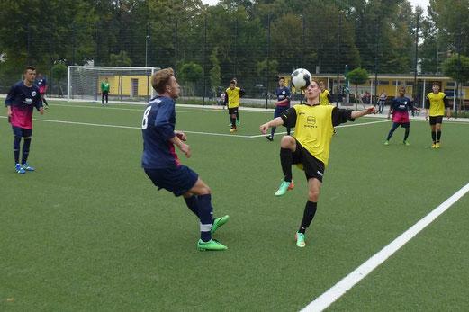 TuS A-Jugend im Heimspiel gegen die SG Schönebeck. - Foto: mal.