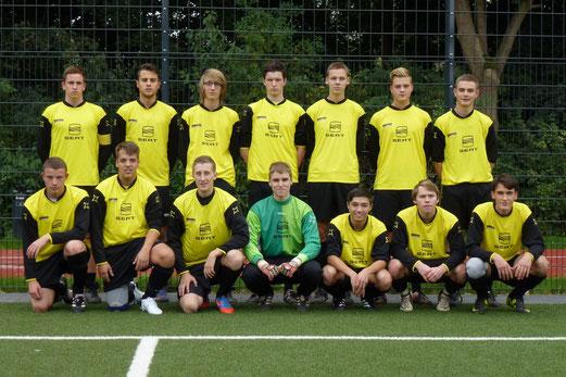 TuS A-Jugend: Aufsteiger in die Leistungsklasse 2013 (Foto: mal).