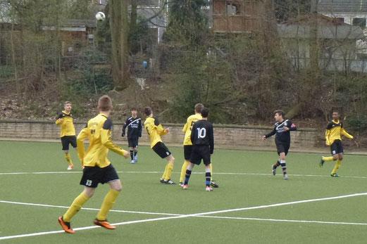 Abbruch beim Stand von 7:0: TuS B-Jugend im Auswärtsspiel beim SC Phönix. - (Foto: mal).