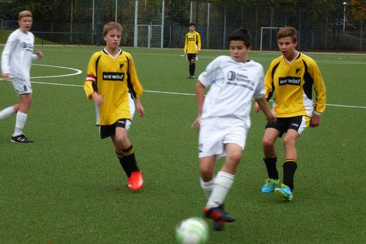 C-Jugend im Heimspiel gegen die C2 von Adler Frintrop. - (Foto: mal).