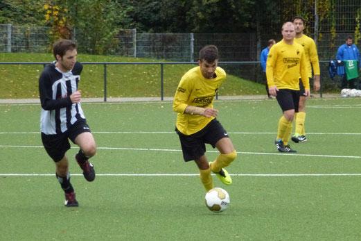 1. Mannschaft im Heimspiel gegen FC Stoppenberg. - (Foto: mal).