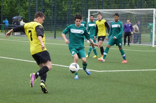 Die Qualität des Gegners anerkennen musste die A-Jugend im Auswärtsspiel in Schonnebeck. - (Foto: mal).