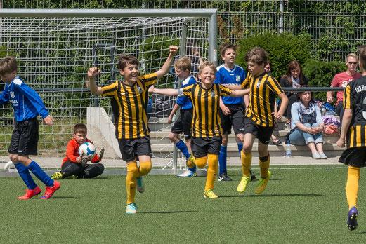 TuS E1-Jugend gegen SG Kupferdreh-Byfang. - Foto: r.f.