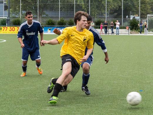 Zweite Mannschaft im Sonntagspiel gegen Barisspor 84 (Foto: r.f.).