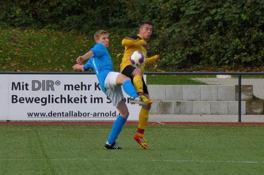 B-Jugend im Spiel bei der SG Schönebeck an der Ardelhütte. - (Foto: mal).