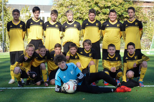 TuS C-Jugend - Saison 2012/13 (Foto: mal).