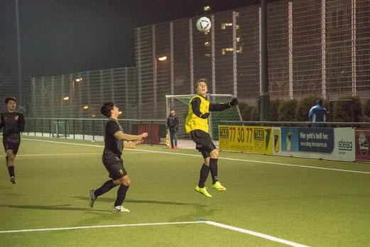 TuS A-Jugend im Spiel gegen FC Alanya. - Foto: r.f.
