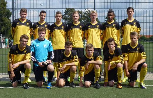 Starten mit einem Heimspiel gegen den FC Karnap: TuS B-Jugend - Saison 2014/15. - Foto: mal.