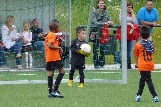 Bambini 2 Treff: Ballfreunde Bergeborbeck - TuSEM (Foto: mal).