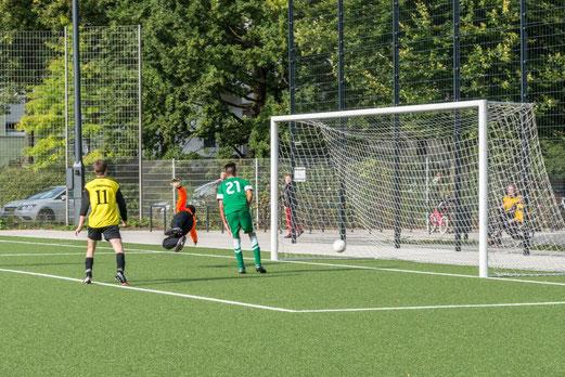 Das entscheidende Tor zum 3:2: TuS A-Jugend im Spiel gegen den SC Phönix (Foto: r.f.).