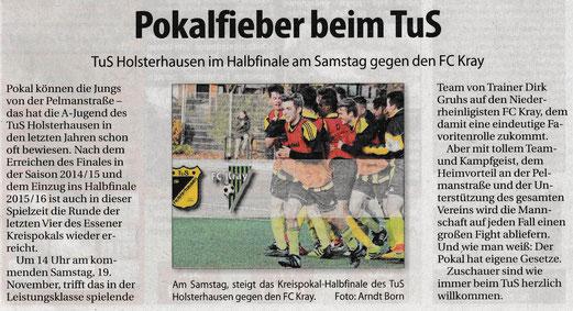 Süd-Anzeiger, 16.11.2016.