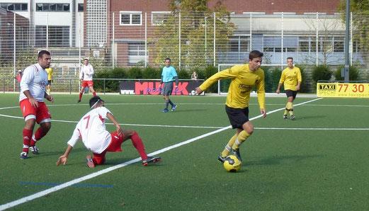 Zweite Mannschaft im Heimspiel gegen SC Türkiyemspor 2. - Foto: mal.