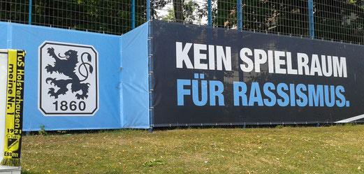 Trainingsgelände des TSV 1860 München an der Grünwalder Straße. - Foto: mal / Fotos oben: dkrä und dage.