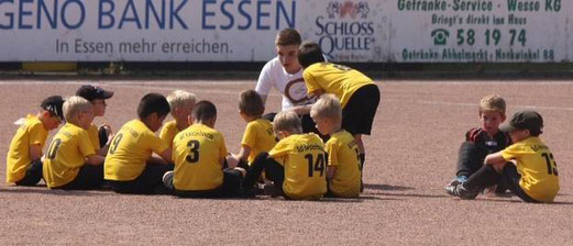 TuS Bambini 1 in Überruhr (Fotos: p.d.).